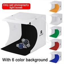LED Light Room Photo Studio Photography Lighting Tent Backdrop Cube Box C