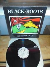 """Black Roots """"All Day All Night"""" LP NUBIAN UK 1987"""