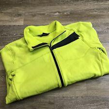 SPYDER Full Zip Up Long Sleeve Green US SKI TEAM Jacket Men's Size XL