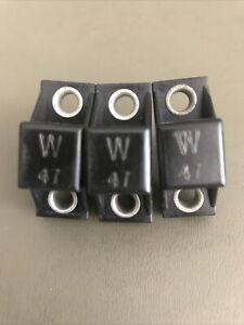 Lot Of 3 W47 Allen Bradley Overload Heaters W47