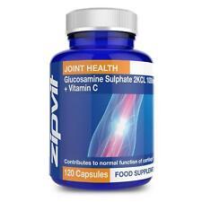 ZIPVIT Sulfato de Glucosamina 2KCI 1000mg + Vitamina C 120 Caps Soporte Conjunto Reino Unido
