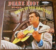 DUANE EDDY LP PLAYS SONGS OF OUR HERITAGE / JAMIE USA 1961