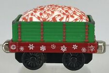 "Thomas & Friends Take N Play 2"" Holiday Express Diecast Green Candy Cane Car"