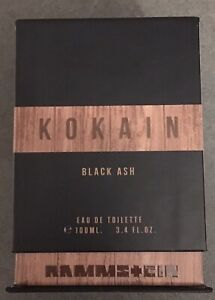 "34,90€/ 100ml - Rammstein Kokain ""Black Ash"", 100ml Eau de Toilette, neu"