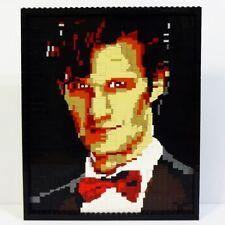 Custom Eleventh Doctor LEGO Mosaic Model