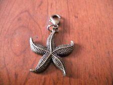 charms étoile de mer 28x24mm couleur bronze