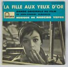 La fille aux yeux d'or 45 tours Marie Laforet Narciso Yepes 1961