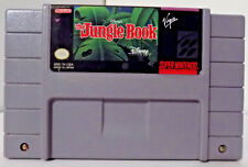 The Jungle Book Game Cartridge SNES Super Nintendo Disney Works Great Free Ship