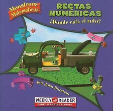 Rectas numericas / Number Lines: Donde Esta El Auto? / How Far to the Car?