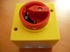 Control Switch Drehwahlschalter Phase Converter Reversing Switch Walnut