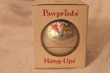 Vtg Pawprints Christmas Hang-Ups Ornament Sacred Journey Berta Hummel '76 Schmid