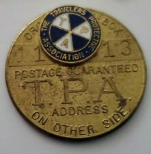 The Travelers Protective Association Pin & Key FOB~TPA