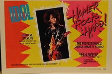 1985 Steve Stevens Hamer Prototype Steve Stevens model electric guitar print ad