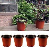 20 Pcs Flower Pots Flowerpot Garden Unbreakable Plastic Nursery Pots Decor