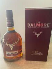 The Dalmore 12 Years Highland Single Malt Whisky 40% Scotland Originalverpackung