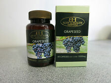 Body & Health Grapeseed 12000mg 60 Capsules - Grape Seed Extract
