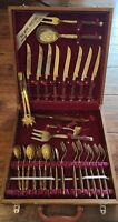 Vintage Thai Products Industries 29 pc Flatware Silverware Set