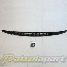 Genuine Nissan Patrol Smoked Bonnet Protector Suit GU 1-3 ( F5166VB011A )