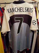 Rangers Football Shirt Kanchelskis 7 Champions League Small