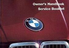 BMW 3 SERIES 316 318i 320i 323i Early models E30 Handbook Manual Catalogue paper