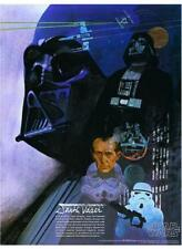 Star Wars  POSTER  4 of 4 Set Sci-Fi Art Burger Chef Harrison Ford George Lucas