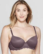 DAYDREAM LIGHT LIFT LACE DEMI T-SHIRT BRA BURGUNDY MIST 32DD AUDEN NEW W/TAGS!