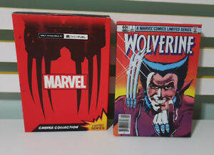 Geek Fuel Exclusive Marvel Comic Canvas Collection WOLVERINE !