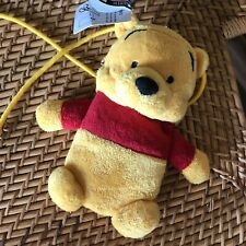 Disney Theme Parks Winnie the Pooh Bear Plush Coin Purse Stuffed Animal Handbag