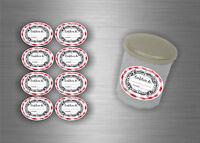24/48/72/96 x sticker aufkleber marmeladen etiketten Geschenkaufkleber