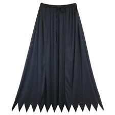 "32"" Black Cape ~ HALLOWEEN SUPERHERO, VAMPIRE, MAGICIAN COSTUME SAWTOOTH CAPE"