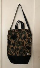 Chester Wallace Classic Upright Tote Crossbody Bag Waxed Canvas Portland Oregon