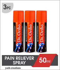 Dr.Ortho Herbal Unique Joint Pain Relief 'Spray' - 3 Pack - 50 ml -Free Shipping