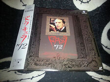 Dracula AD 1972 Japanese Laserdisc +OBI +Insert Christopher Lee Free Ship $30