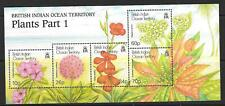 BRITISH INDIAN OCEAN TERR SGMS259 2001 PLANTS FLOWERS  MNH