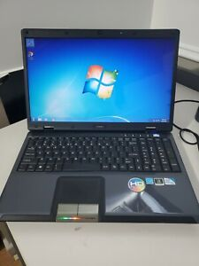 MSI CR600 Laptop Computer Windows 7, Intel Pentium, 3 GB, 120 GB SSD, WORKS!