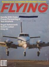 Flying Magazine (Jun 1982) (Richard Bach, King Air C90, Ultralight, Future ATC)