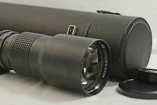 MINOLTA MAXXUM MOUNT 400MM F6.3 QUANTARAY MF CAMERA LENS (MINT)