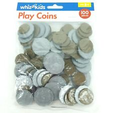 Play toy money coins Plastic Counting Maths Australian currency Whiz Kids