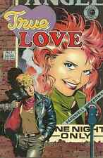 TRUE LOVE #1 - 1986 ECLIPSE - DAVE STEVENS COVER, ALEX TOTH, MIKE PEPPE, N CARDY