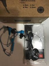 Original JBL Reflect Bluetooth in Ohr Kopfhörer Minze Blau Bewertete 2 Verkauf