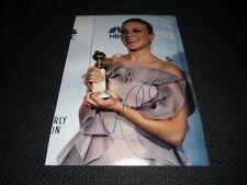"""Chloe sevigny signed autógrafo en 20x30 cm foto """"Kids-Big Love"""" inperson Look"""