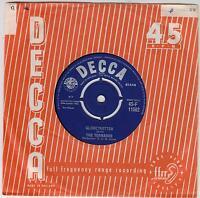 "THE TORNADOS - Globetrotter - Original 1962 UK radial Decca logo 7"" vinyl single"