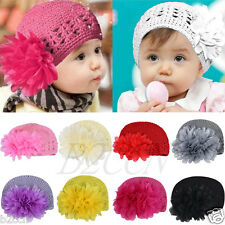 Infant Baby Girl Flower Headband Hair Band Toddler Hair Accessories Headwear Hat