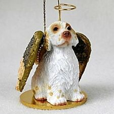 Clumber Spaniel Dog Angel Holiday Ornament Tiny Ones Figurine NEW