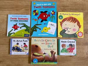 Llyfrau Cymraeg A Dwyieithog i Blant / Bilingual &  Welsh Books For Children