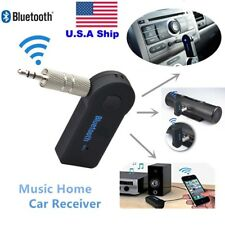 Mini Bluetooth  Handfree Adapter  Music Car Receiver 3.5mm AUX Audio Stereo