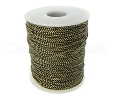 Ball Chain Roll - 330 Ft - Antique Bronze Color - 1.5mm Ball - 100 Meters Bulk