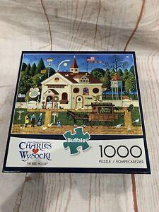 """CHARLES WYSOCKI'S """"THE BIRD HOUSE"""" 1000 PIECE PUZZLE"""