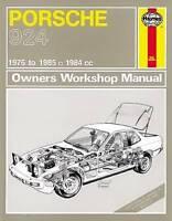 Haynes 397 Manual for Porsche 924 1976-1985