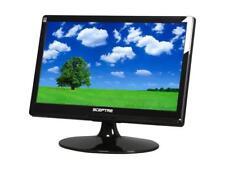"Sceptre X195W-Naga Black 19"" 1366 x 768, 5ms, DVI-I VGA Widescreen LCD Monitor"